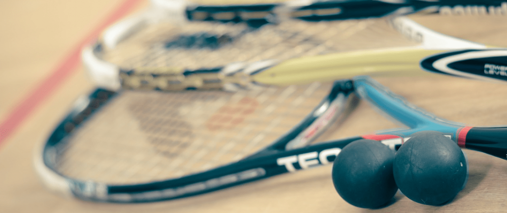 Squash Rackets and Ball