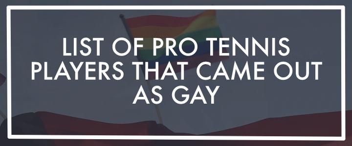 LGBT GAY TENNIS PLAYERS BANNER