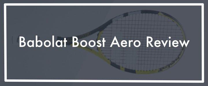 Best Babolat tennis racket for beginners: Babolat Boost Aero