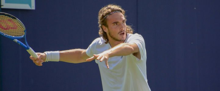 Stefanos Tsitsipas's Tennis Racket